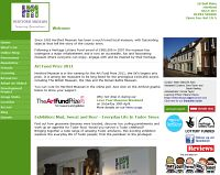 Picture of Hertford Museum website