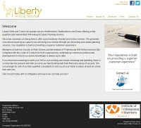 Picture of Liberty Wills &amp Trusts' website